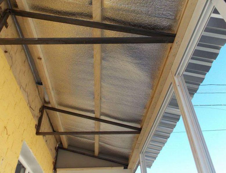 Ремонт балконного козырька -Полезная информация